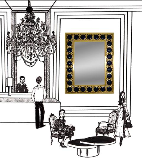 Miroir Appolon Jacques Hurel