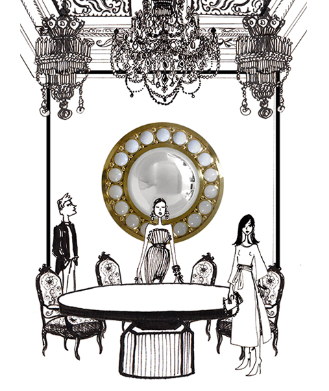Miroir Jacques Hurel